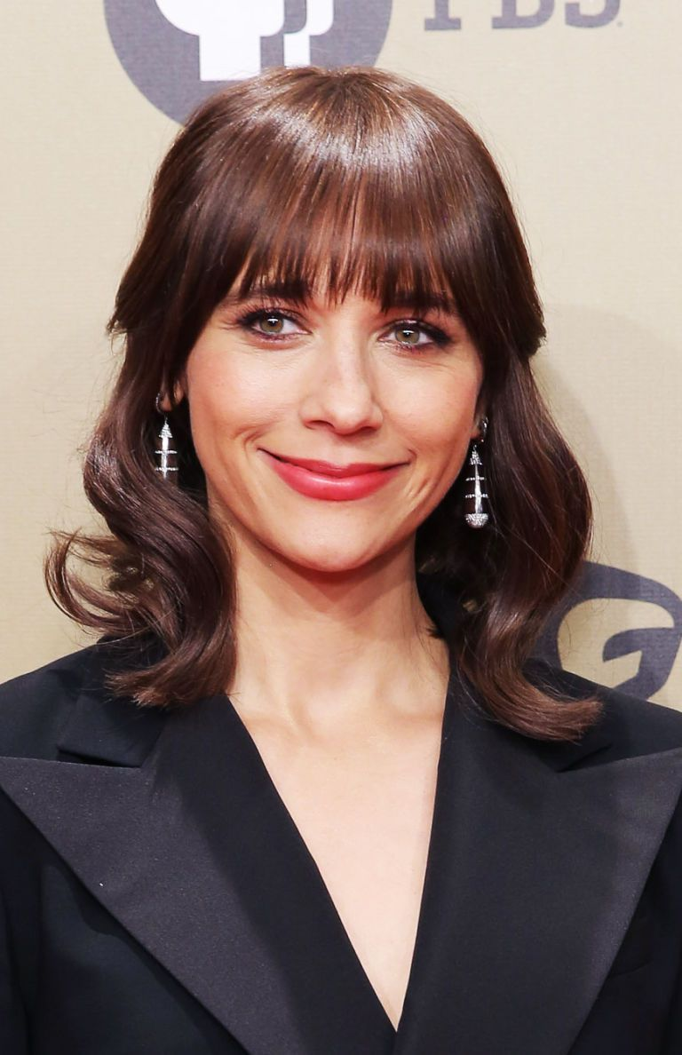 layered hairstyles with bangs for women's 2018