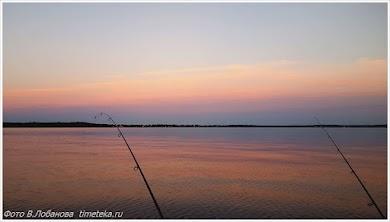 Рыбалка на озере Пено