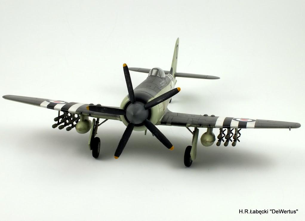Korea 1950-53; Sea Fury FB.11, KITECH 1/48 DSCF3956
