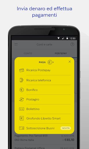 BancoPosta screenshot 5