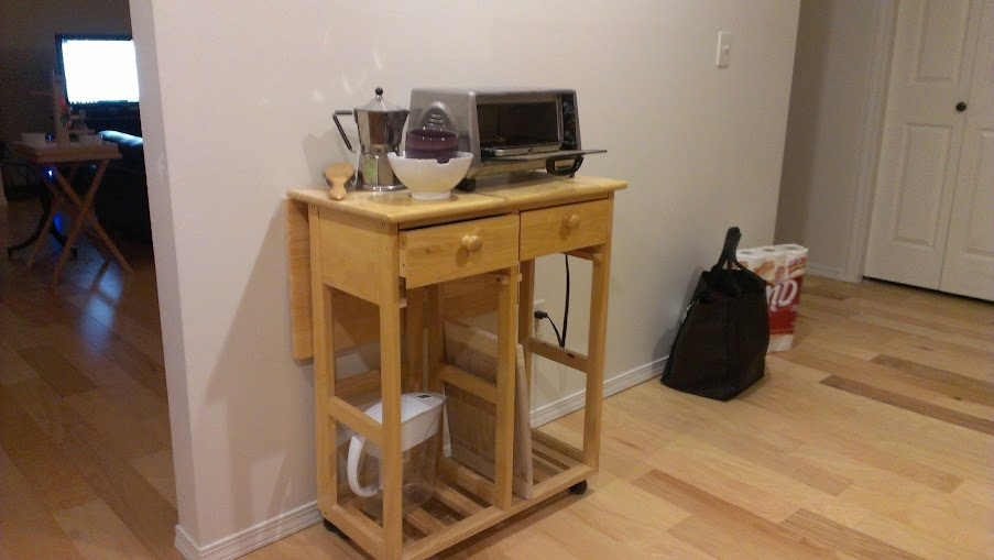DiY Kitchen Table by ngnrdgrl