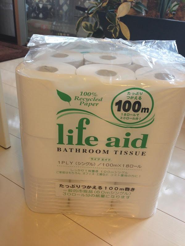 トイレットペーパー life aid