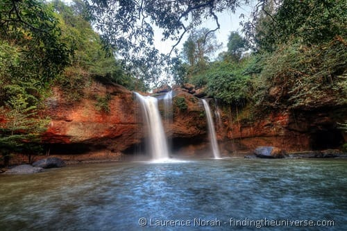 waterfall khao yai national park thailand