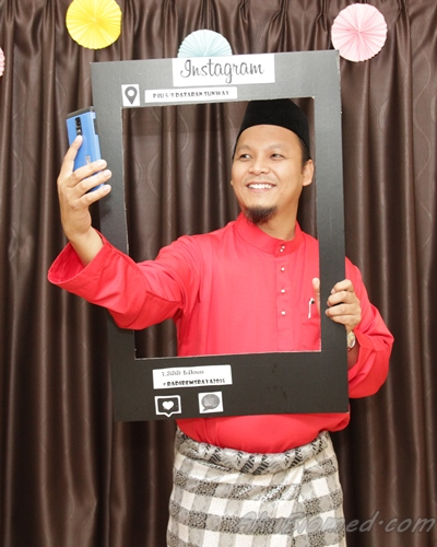 selfie di photo booth