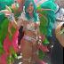 Rihanna sparkles in sexy bejeweled bikini at Barbados carnival