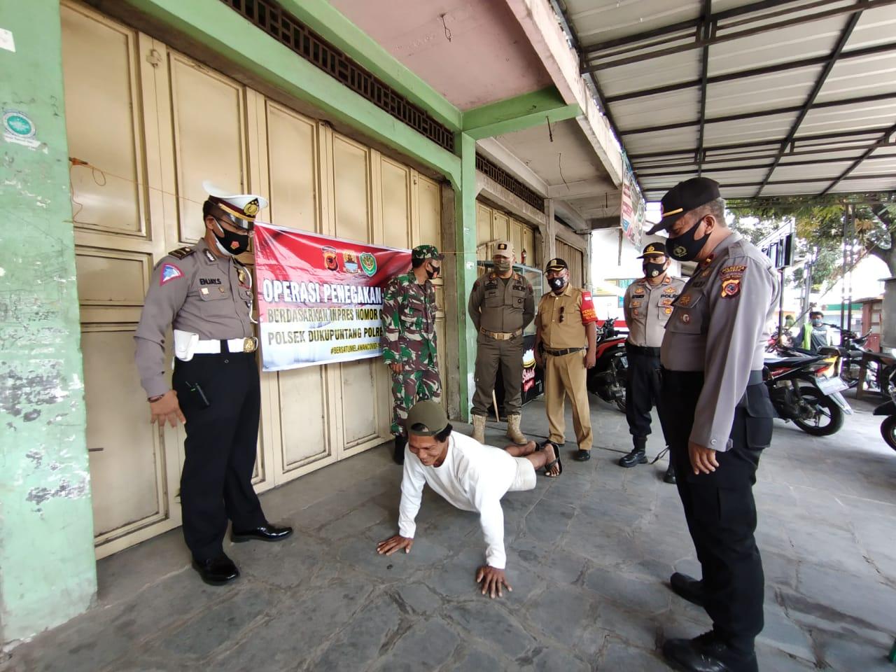 Ribuan Pelanggar Terjaring Operasi Yustisi Protokol Kesehatan yang Digelar Polres Cirebon Polda Jabar