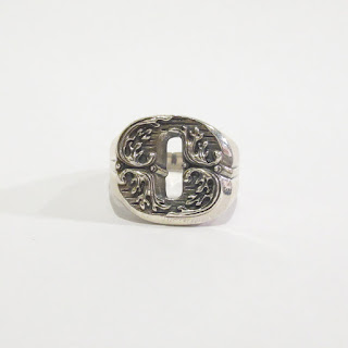 "Sterling Silver Nove25 New Initial ""O"" Ring"