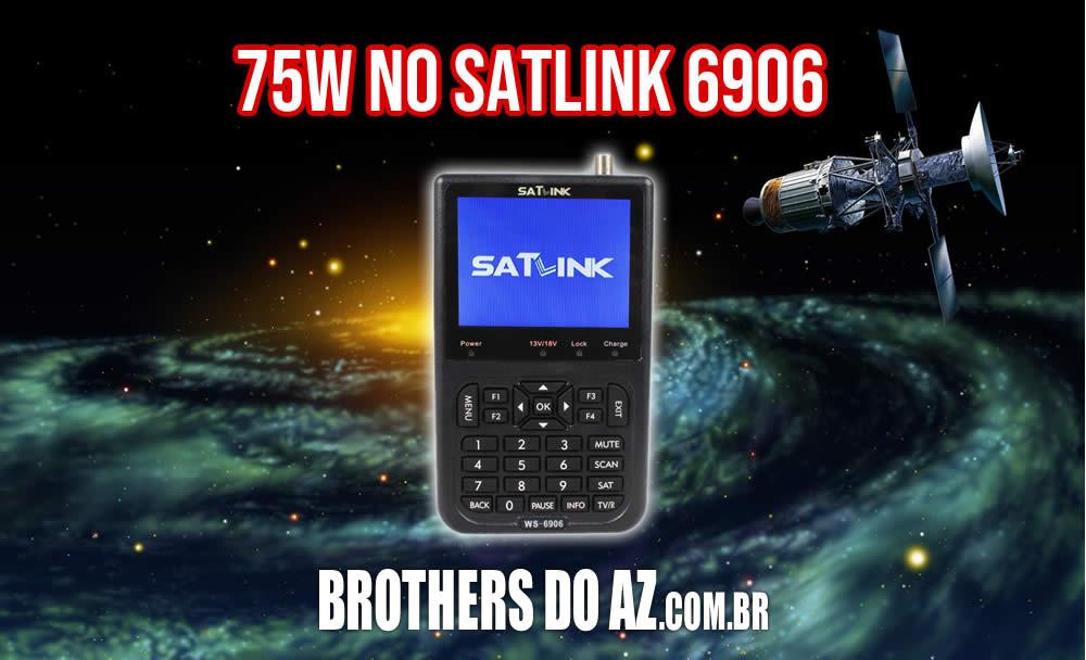 Encontrar 75w com Satlink 6906
