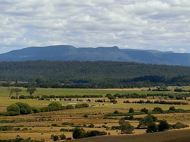 Meander Valley Landscape with Great Western Tiers