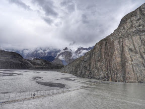 Hunza Valley and the scary bridge