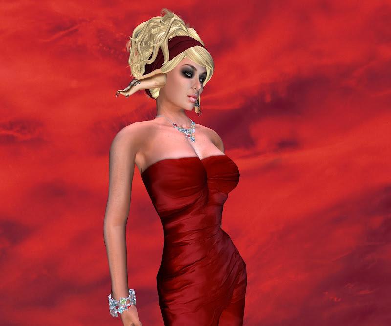 In Red, Elven Girls