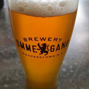Ommegang Brewery tasting of Scythe and Sickle, aBière de Garde style beer that was a Harvest Alebrewed with barley, wheat, oats and rye as a nod to the harvest of upstate New York grains.
