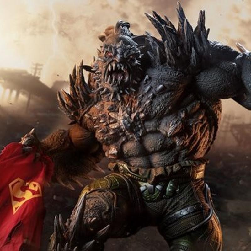 Sideshows imposante Doomsday Statue ist bereit, all Ihre Superhelden-Figuren zu töten