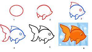 Menggambar Ikan Koi - BERLATIH MENGGAMBAR