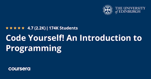 free Coursera course to learn Coding