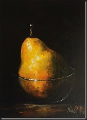 Pear in Glass New 2