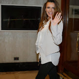 WWW.ENTSIMAGES.COM -   Nadine Coyle   arriving at      Nordoff Robbins Boxing Dinner at Lancaster Hotel, Lancaster Terrace, London October 7th 2013                                                 Photo Mobis Photos/OIC 0203 174 1069
