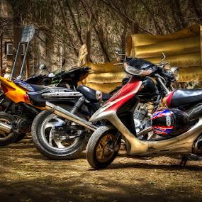 by Eewoj Alcala - Transportation Motorcycles