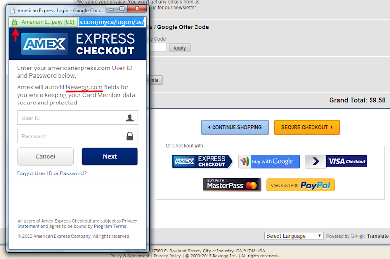 American Express Checkout >> Amex Express Checkout Review Digital Money