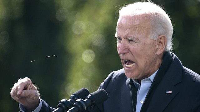 Biden Runs From Question About FBI, 'Will Not Be Seen Again' Until Debate Night: Report