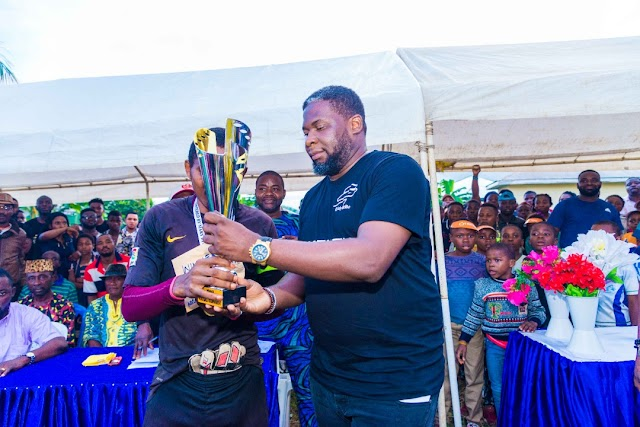 Edwin Eselem's Football Tournament Wraps Up in Style; Ushers Hope for the Wotutu community