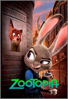 Zootopia - Essa Cidade é o Bicho (2016) Torrent BRRip Blu-Ray 720p / 1080p 5.1 CH Dual Áudio