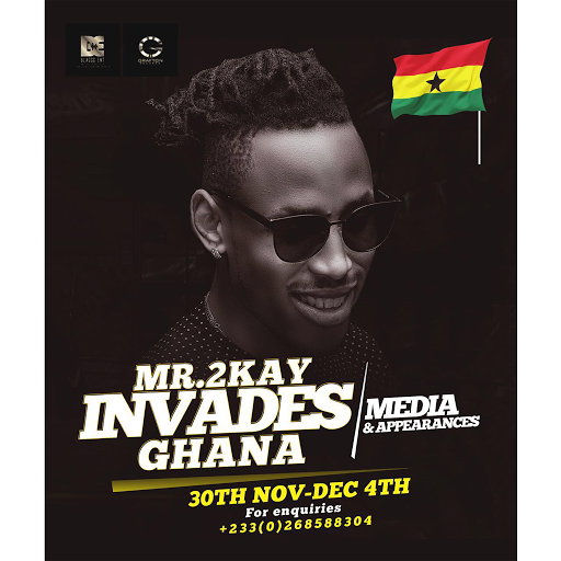 MR 2KAY SET TO STORM GHANA ON MEDIA TOUR