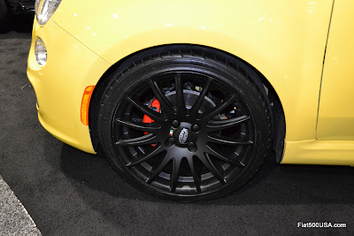 US Fiat 500 with Magneti Marelli Wheels