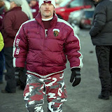 Maroon and silver and camo. Now that's Montana.