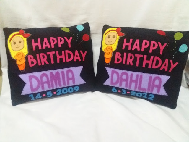 Pillow birthday