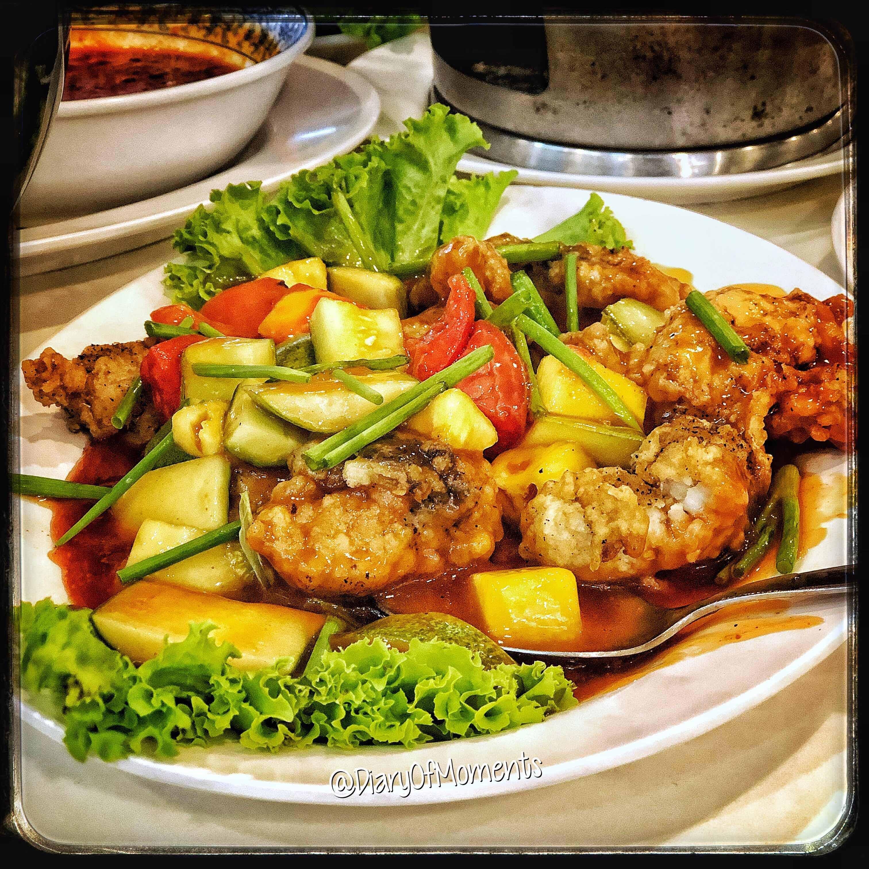 Thai Food- Mango Chicken
