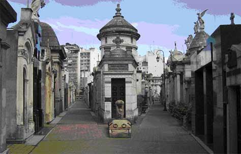 Cementerio de la Recoleta (Barrio de la Recoleta)