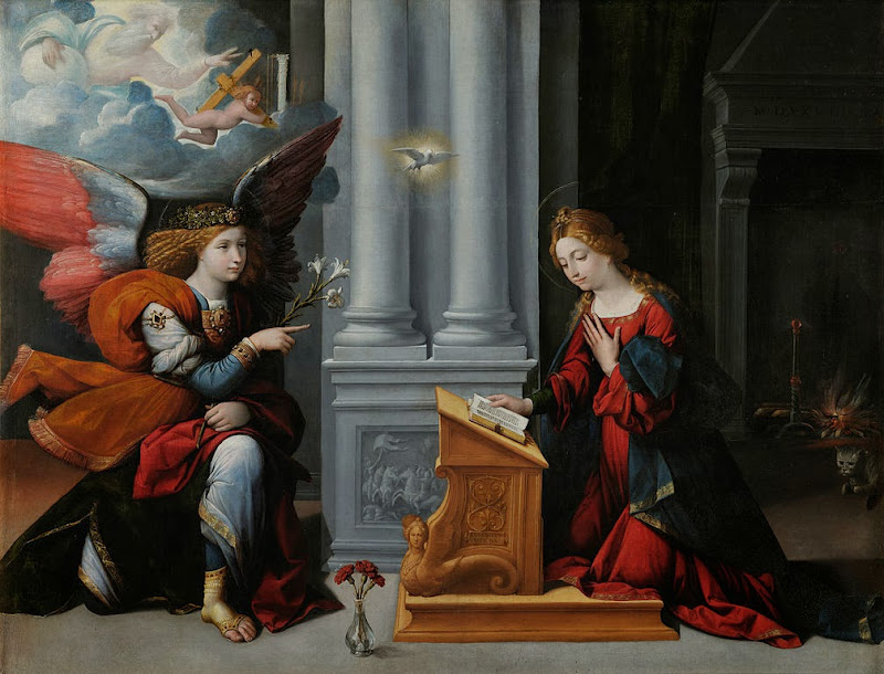 Garofalo - Annunciation - Google Art Project