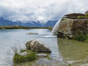 Photo: Lake at Kreuzboden, Saas Valley, Switzerland