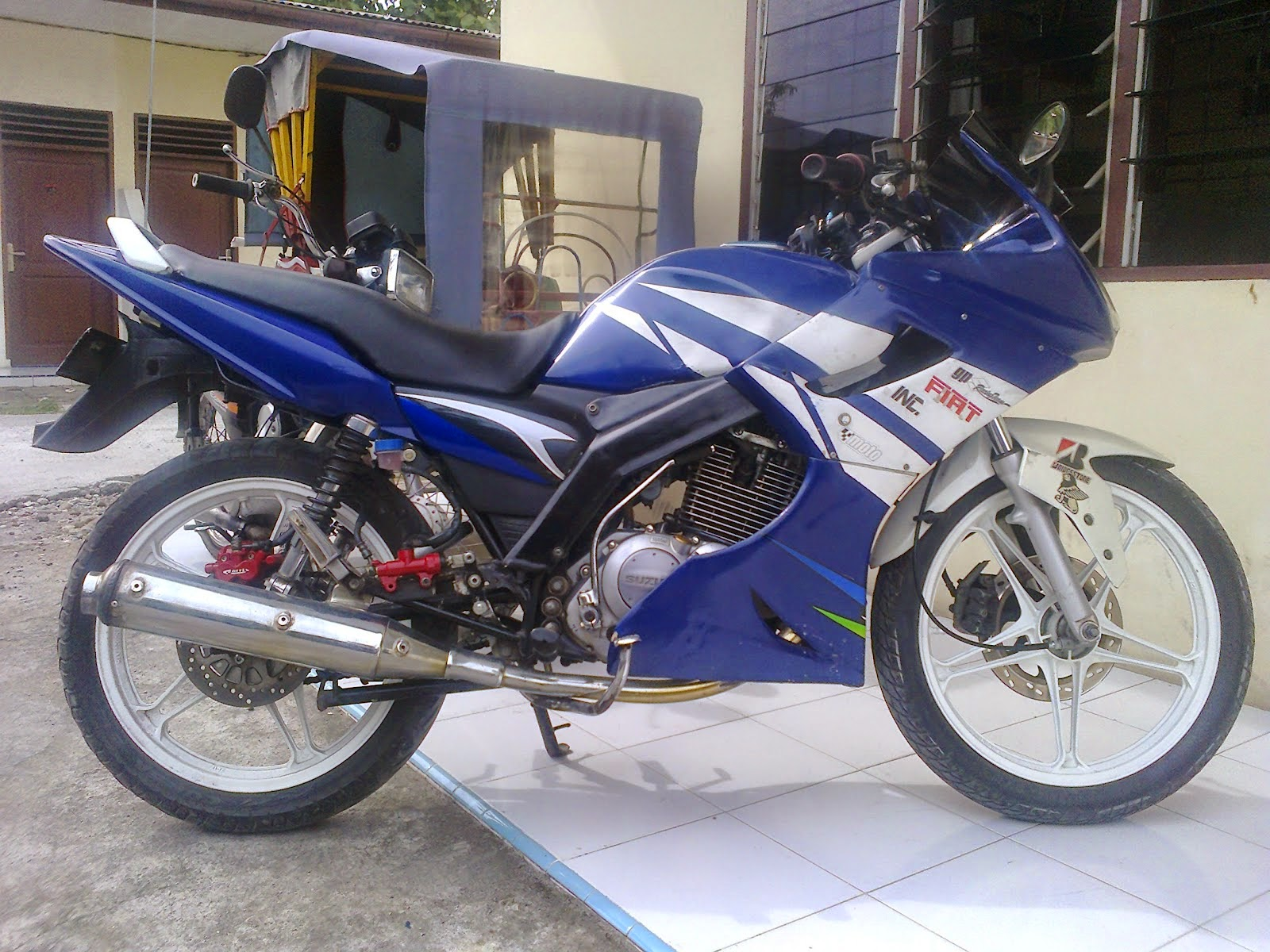 Suzuki Thunder Modifikasi Sport