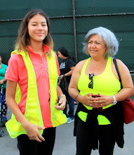 Thank you to Minerva for volunteering to be our crossing guard! (Matching Inginia!)