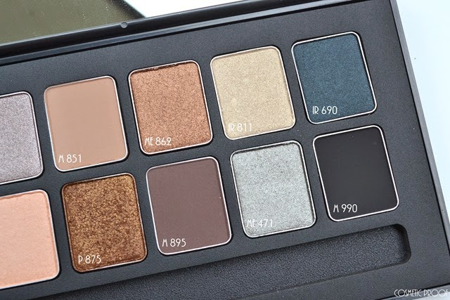 shu uemura 16 shades of nude eyeshadow palette swatches review (4)