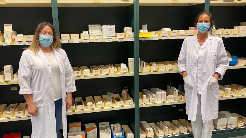 La Unidad de Farmacia del Hospital del Poniente cuenta con más de una treintena de profesionales.