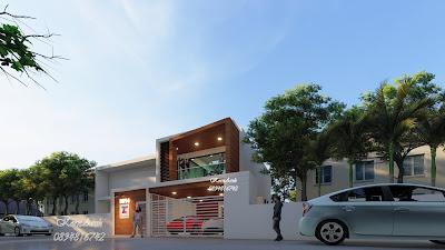 ต่อเติมสำนักงาน 2 ชั้น เจ้าของอาคารคุณศรัญญา กิตติวัฒนโชติ บริษัท Team Creation สถานที่ก่อสร้าง ต.คลองสอง อ.คลองหลวง จ.ปทุมธานี