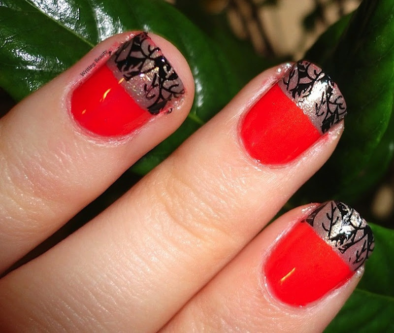 Fall French Manicure 2