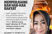 Ellidanetti: Tidak Ada Niat Sedikitpun Eggi Sudjana Ingin Melengserkan Presiden Jokowi