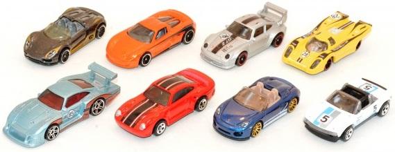 Đồ chơi Mô hình xe Porsche Series Hot Wheels CGB63