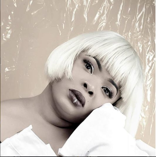 See Dayo Amusa's Blonde Hair (Photos)