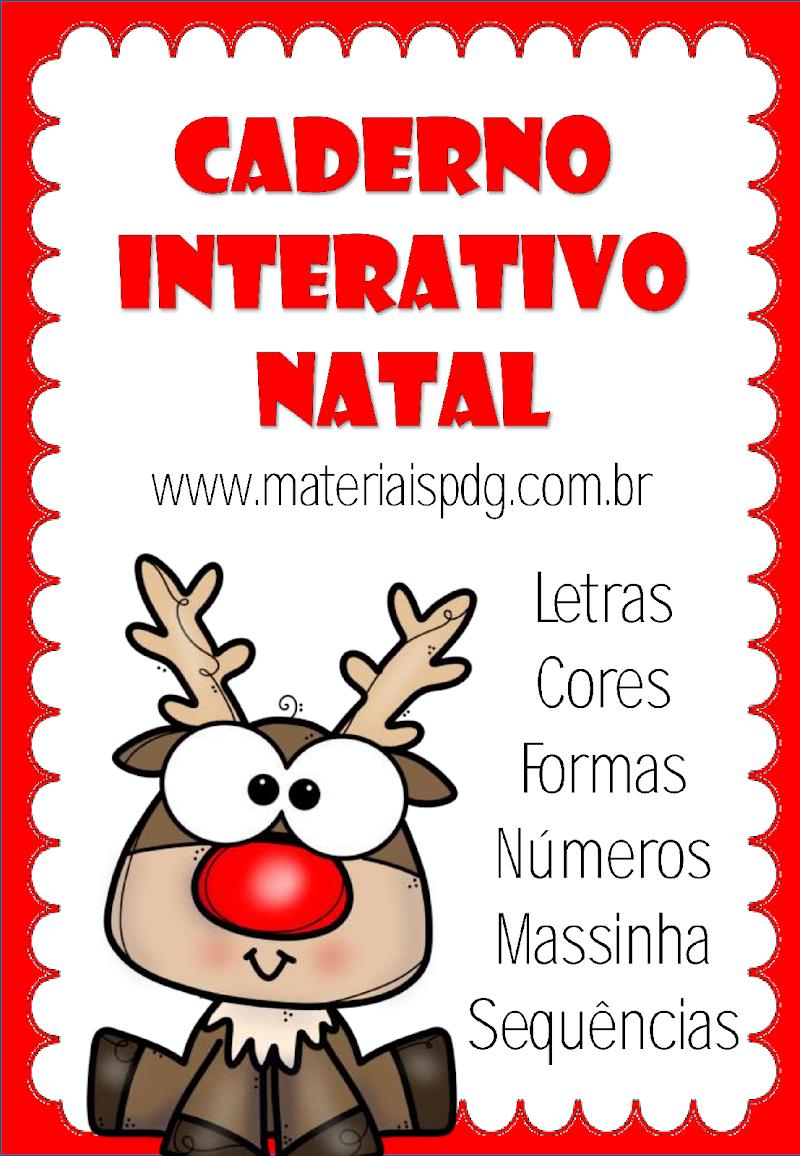 CADERNO INTERATIVO - NATAL - FANTOCHES DOWNLOAD GRÁTIS