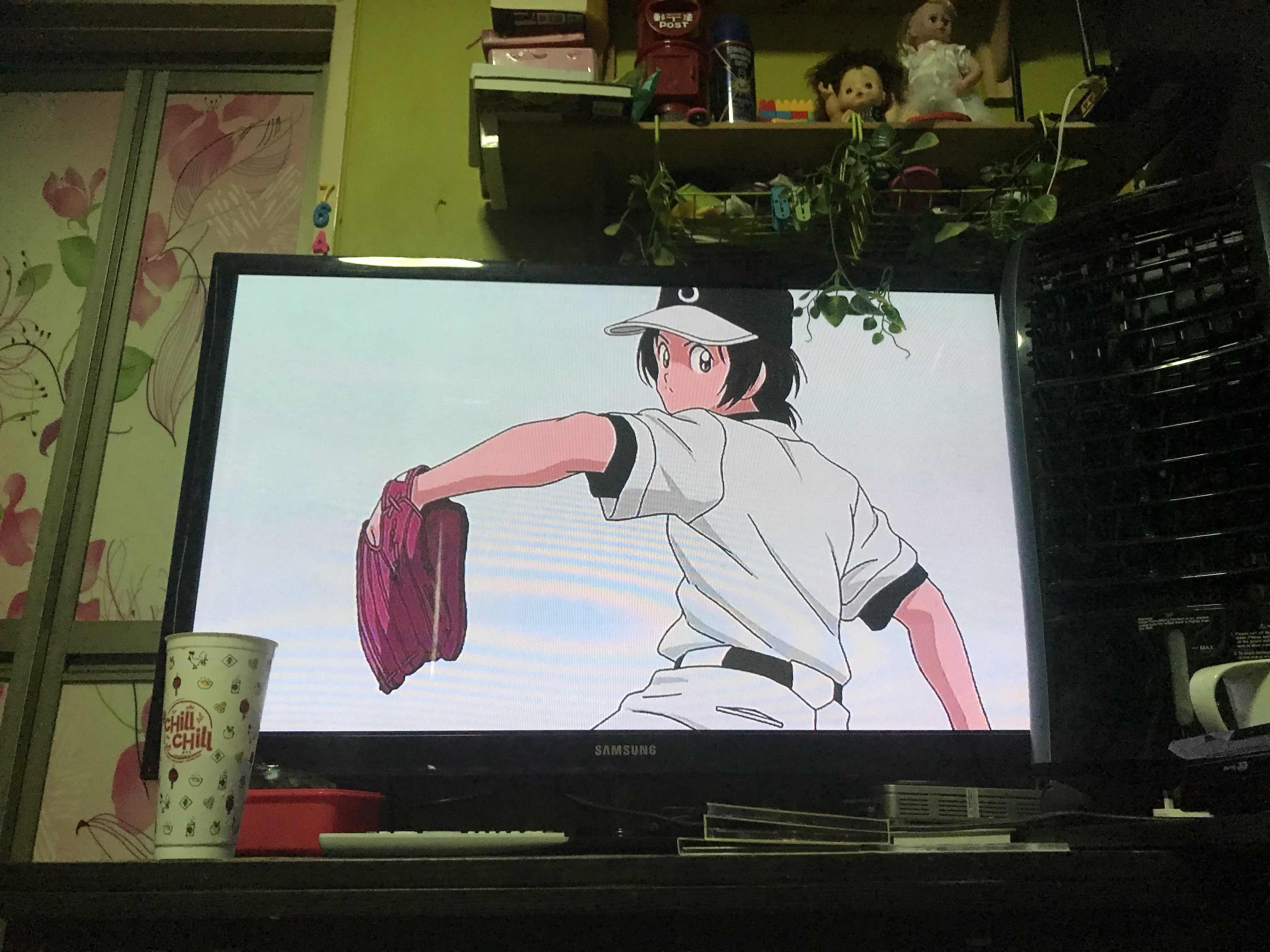 Dah lama gila aku meninggalkan aktiviti menonto anime akhirnya berpusing juga cd anime aku hari ni Aku ni memang ketahuan penggemar sports anime dan ini