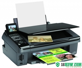 How to Reset Epson CX8400 printing device – Reset flashing lights error