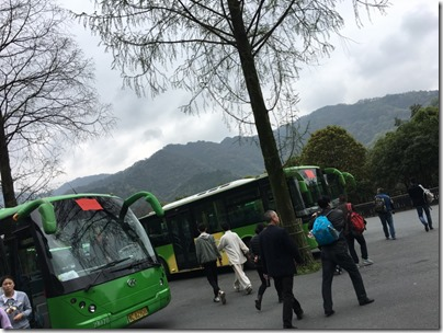 Wudang Shan shuttle bus 武當山公交車