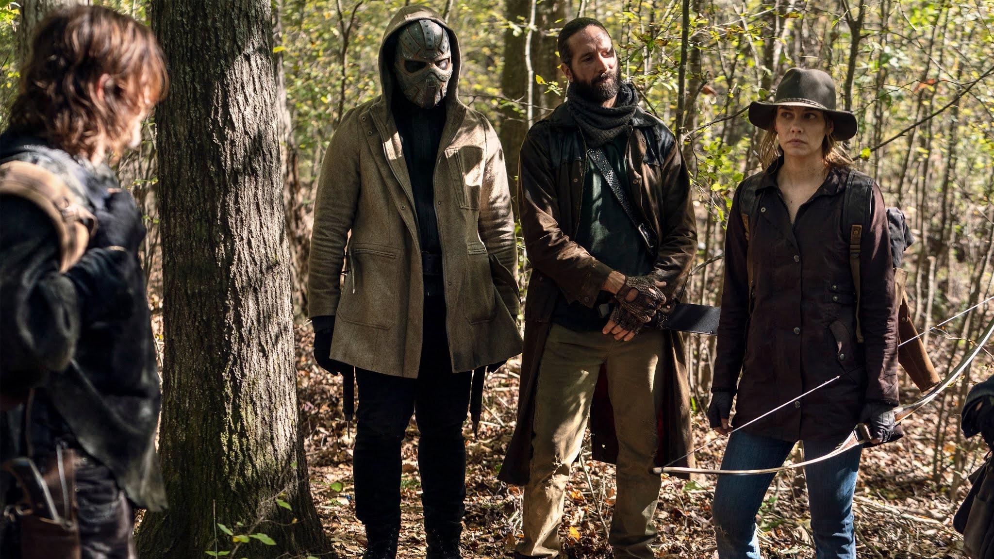 Maggie vuelve con Elijah y Cole a The Walking Dead
