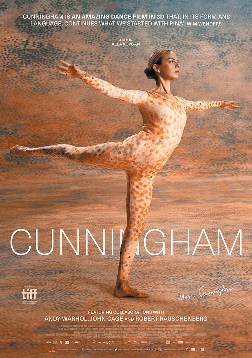 Cunningham.Oogstrelende 3D-documentaire over radicale dansvernieuwer Merce Cunningham, een van de meest invloedrijke choreografen ter wereld.