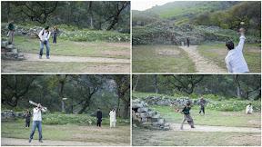 Cricket with locals at Bhamala